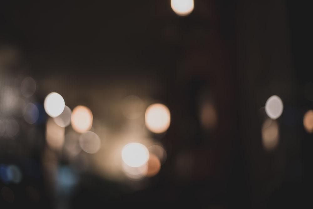 verschwommene Lichter
