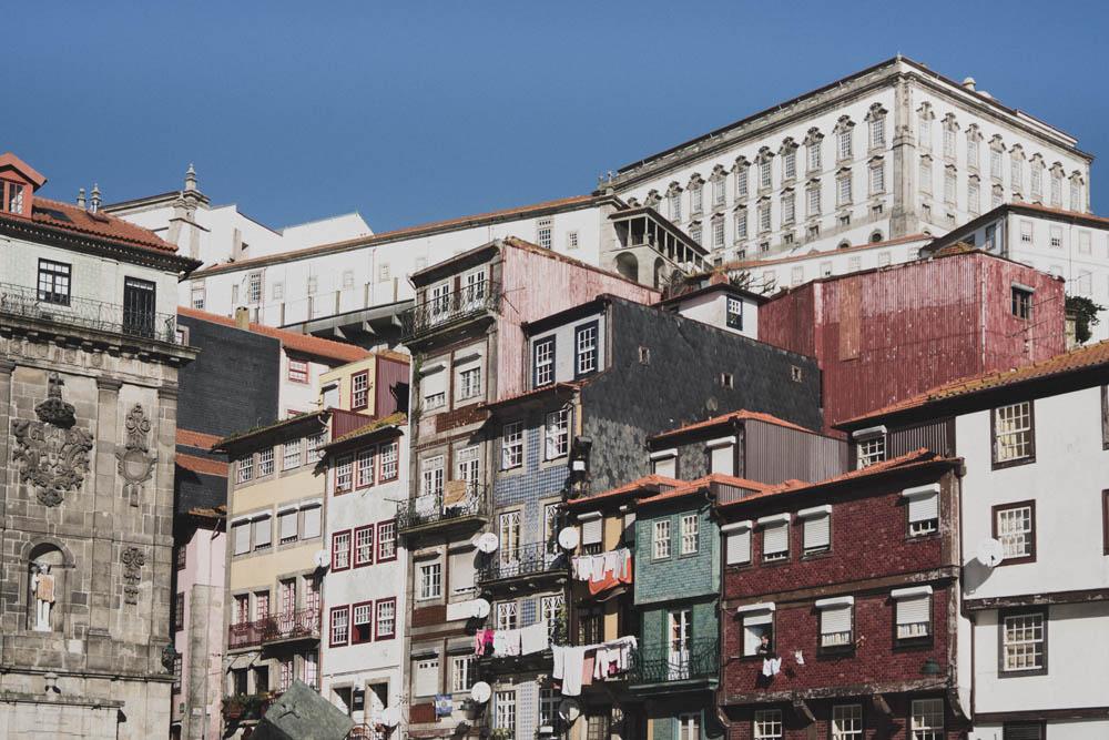 Häuser in Porto